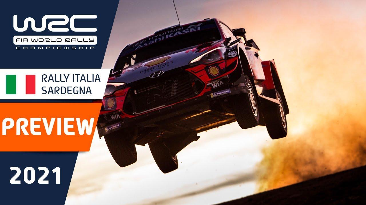 Sardiinia ralli 2021 ametlik eelvaade, WRC