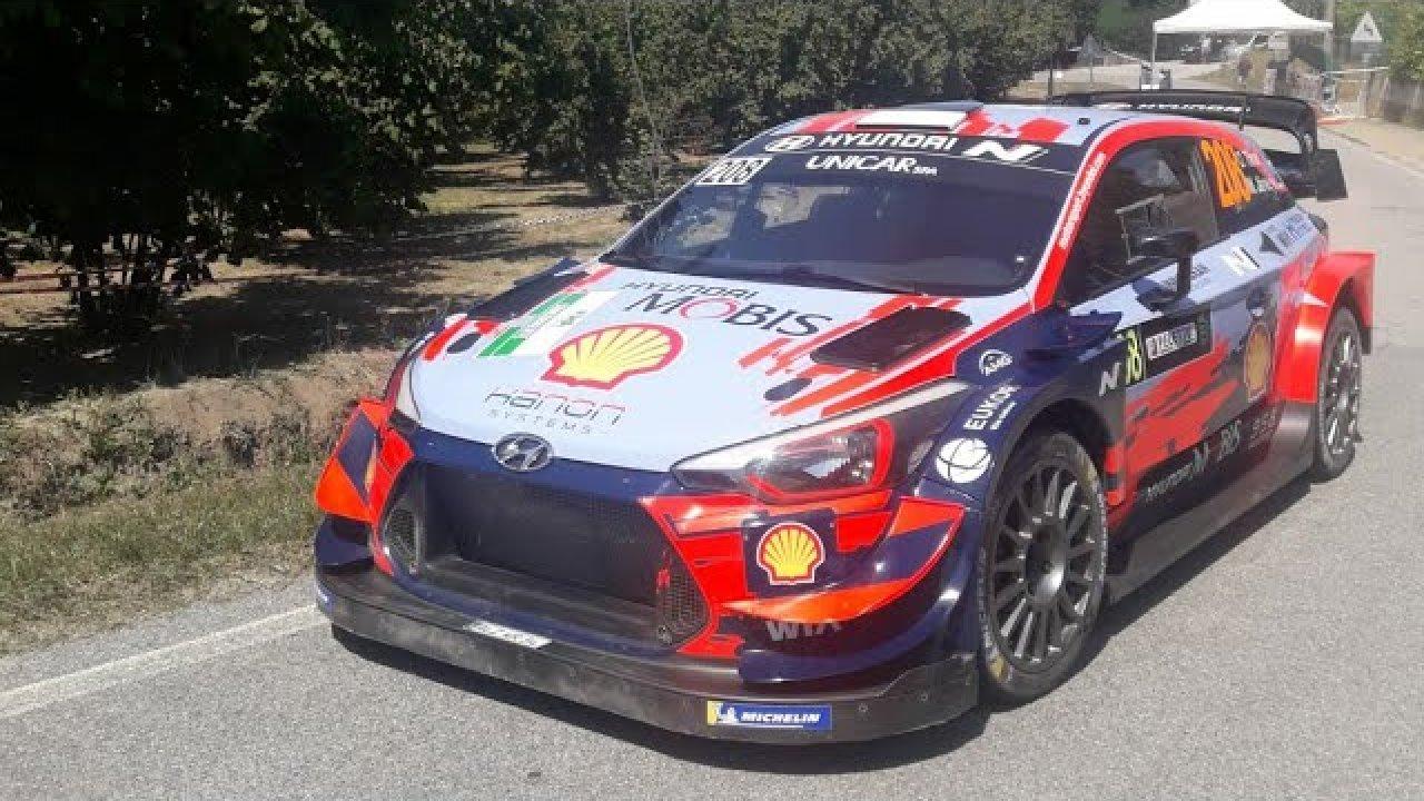 Rally di Alba 2020 - shakedown testikatse, Dani Rally