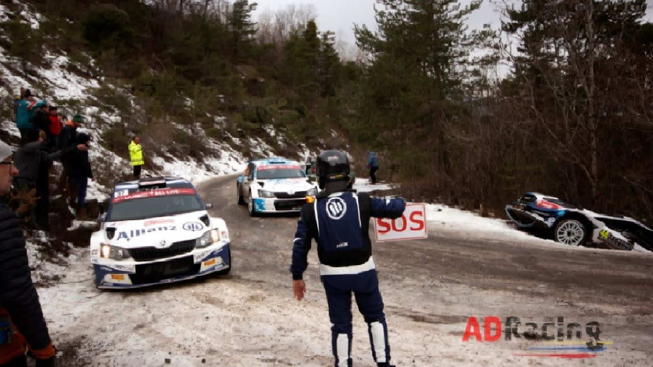 Monte Carlo ralli 2020 - avariid ja eksimused, ADRacing Rallyes