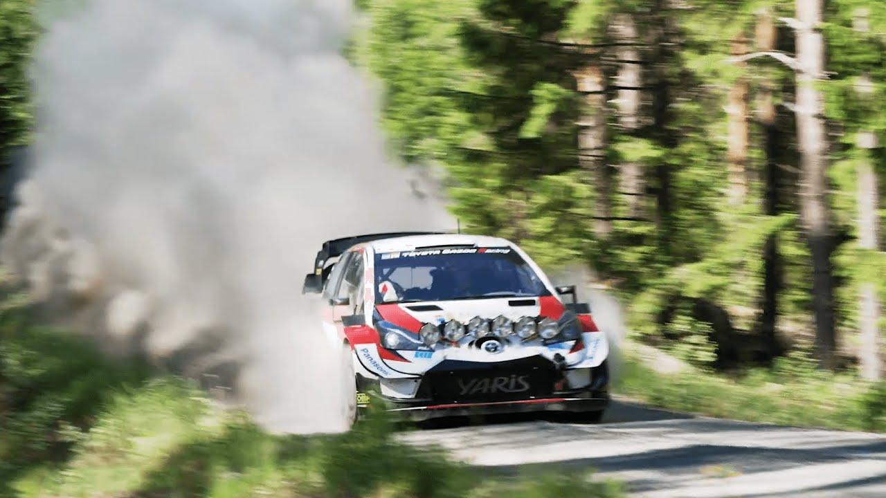 Toyota WRC testimine Soomes, juuni 2020 - DirtFish