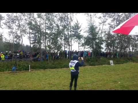 Poola rall 2017 - Rosochackie Jump, Sébastien Ogier