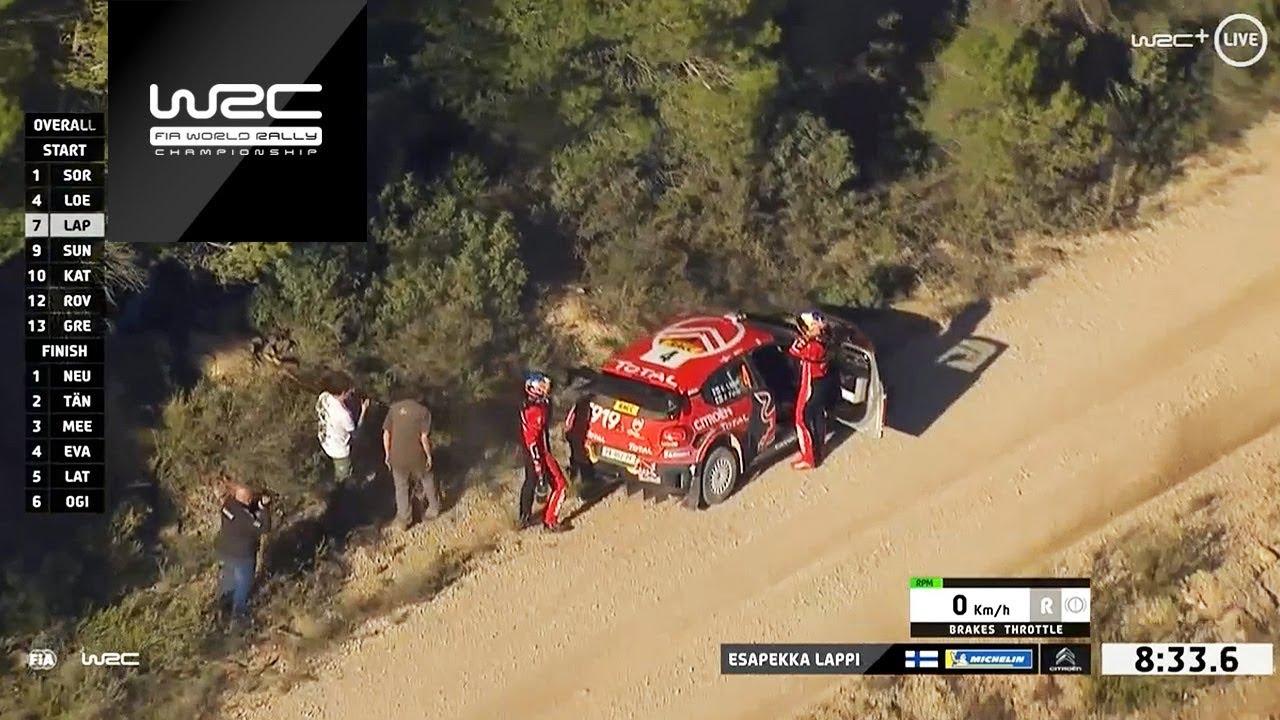 Hispaania ralli 2019 - SS4 - SS6 ametlik kokkuvõte, WRC