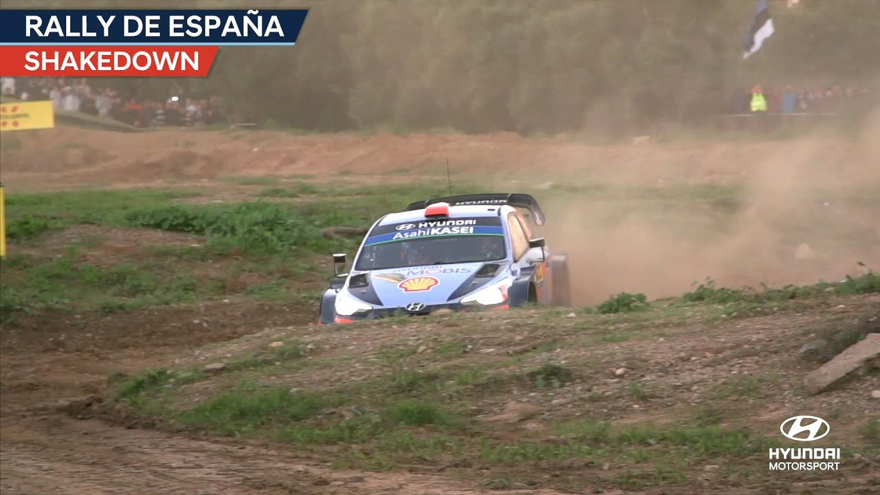 Hispaania ralli 2018 - testikatse, Hyundai Motorsport