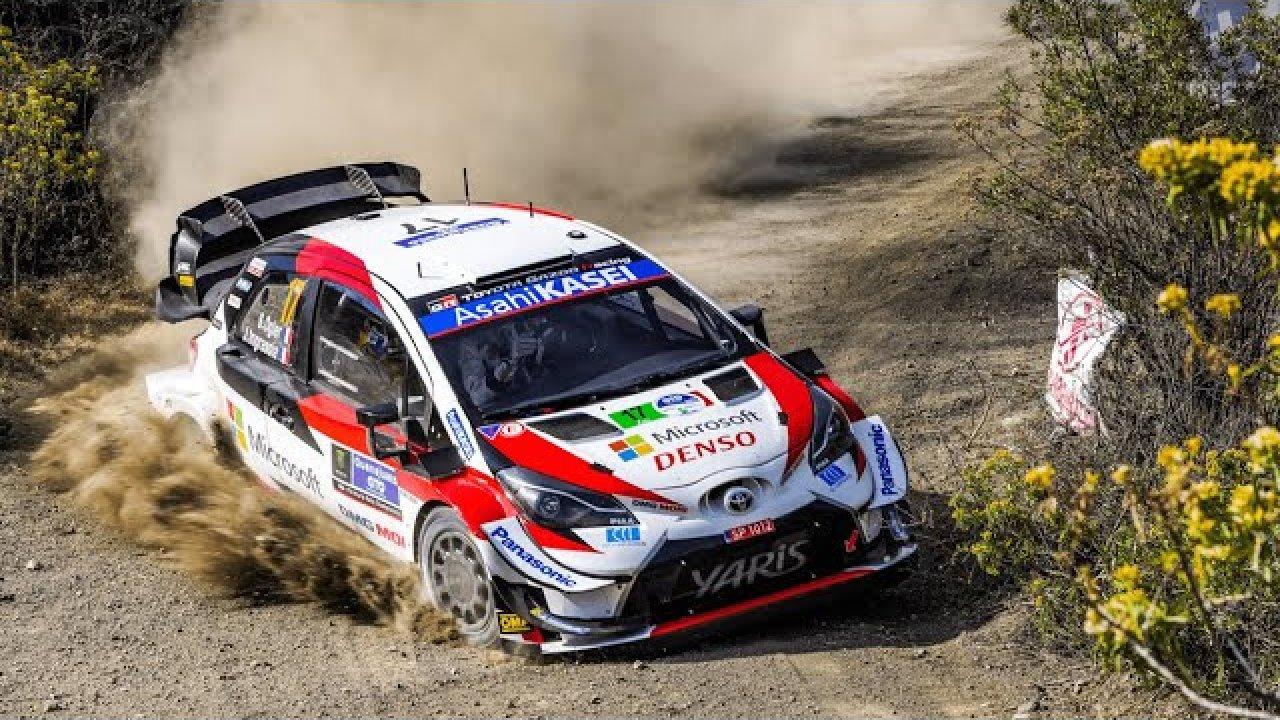 Mehhiko ralli 2020 - 1. päeva piiripeal kihutamine, WRC