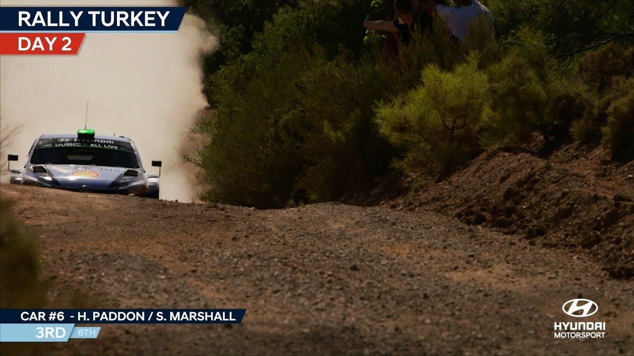 Türgi rall 2018 - 3. päeva kokkuvõte, Hyundai Motorsport