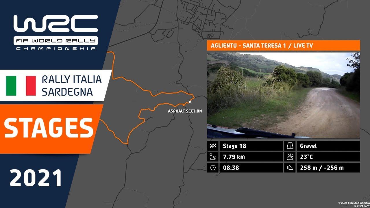 Sardiinia ralli 2021 kiiruskatsete ülevaade