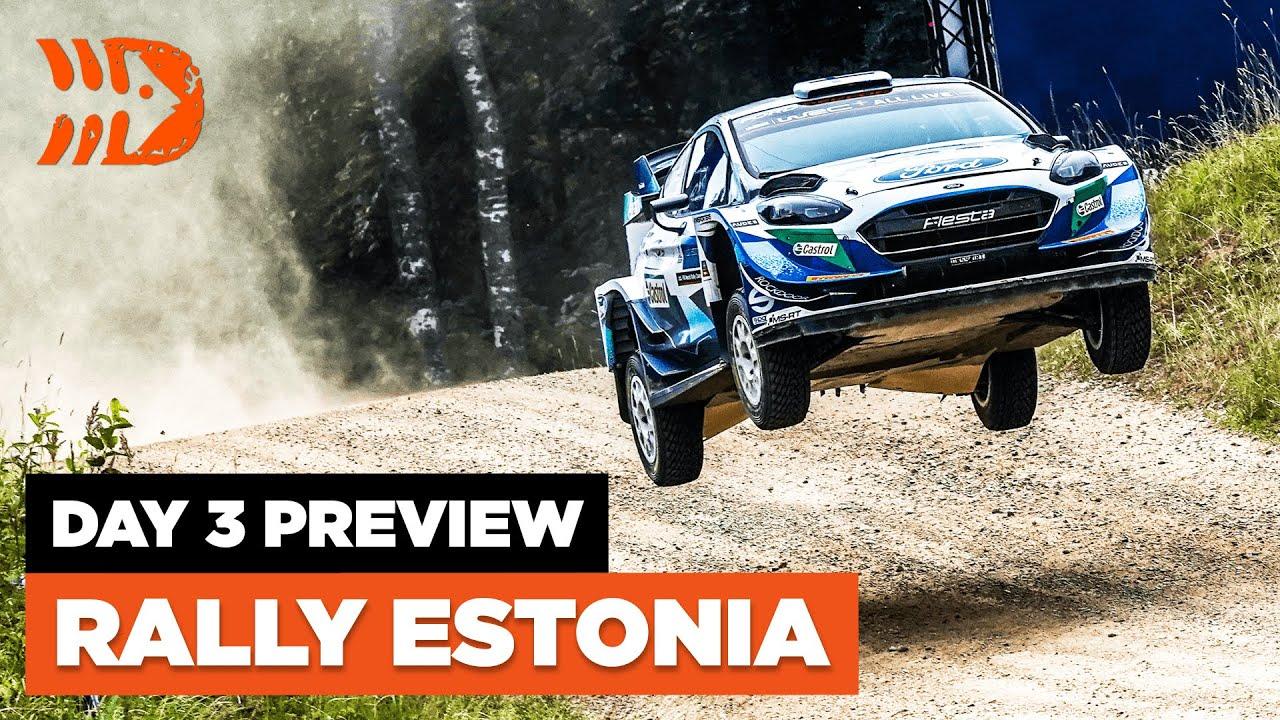 Rally Estonia 2021 3. võistlupäeva, laupäeva eelvaade, DirtFish