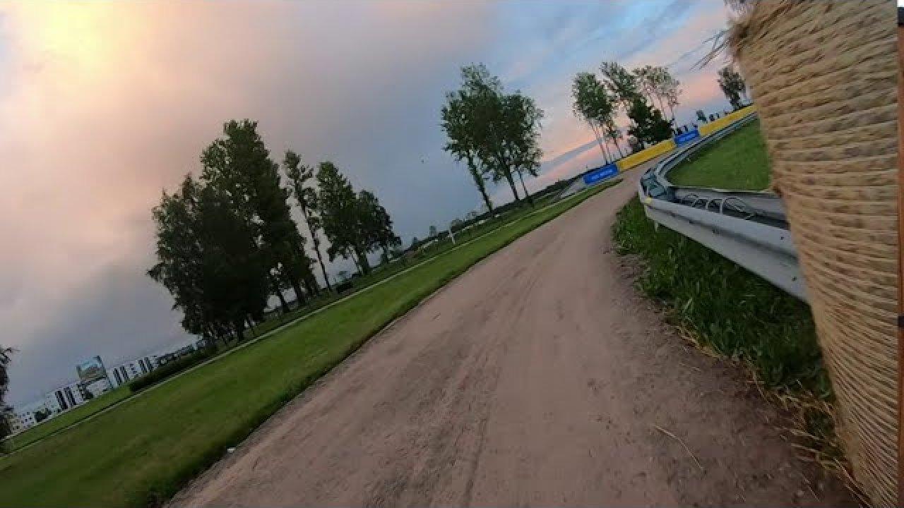Rally Estonia esimene, Tartu kiiruskatse läbituna jalgrattal