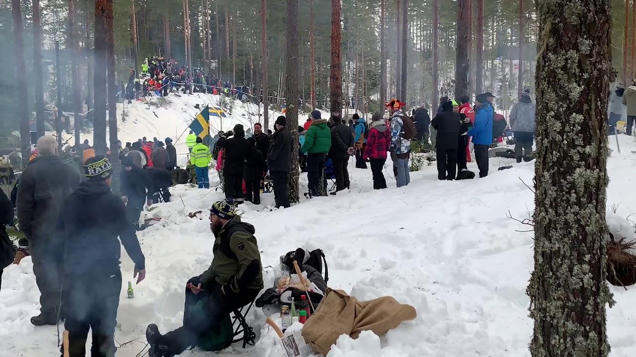 Rootsi ralli 2019 - SS3, Emil Nilsson