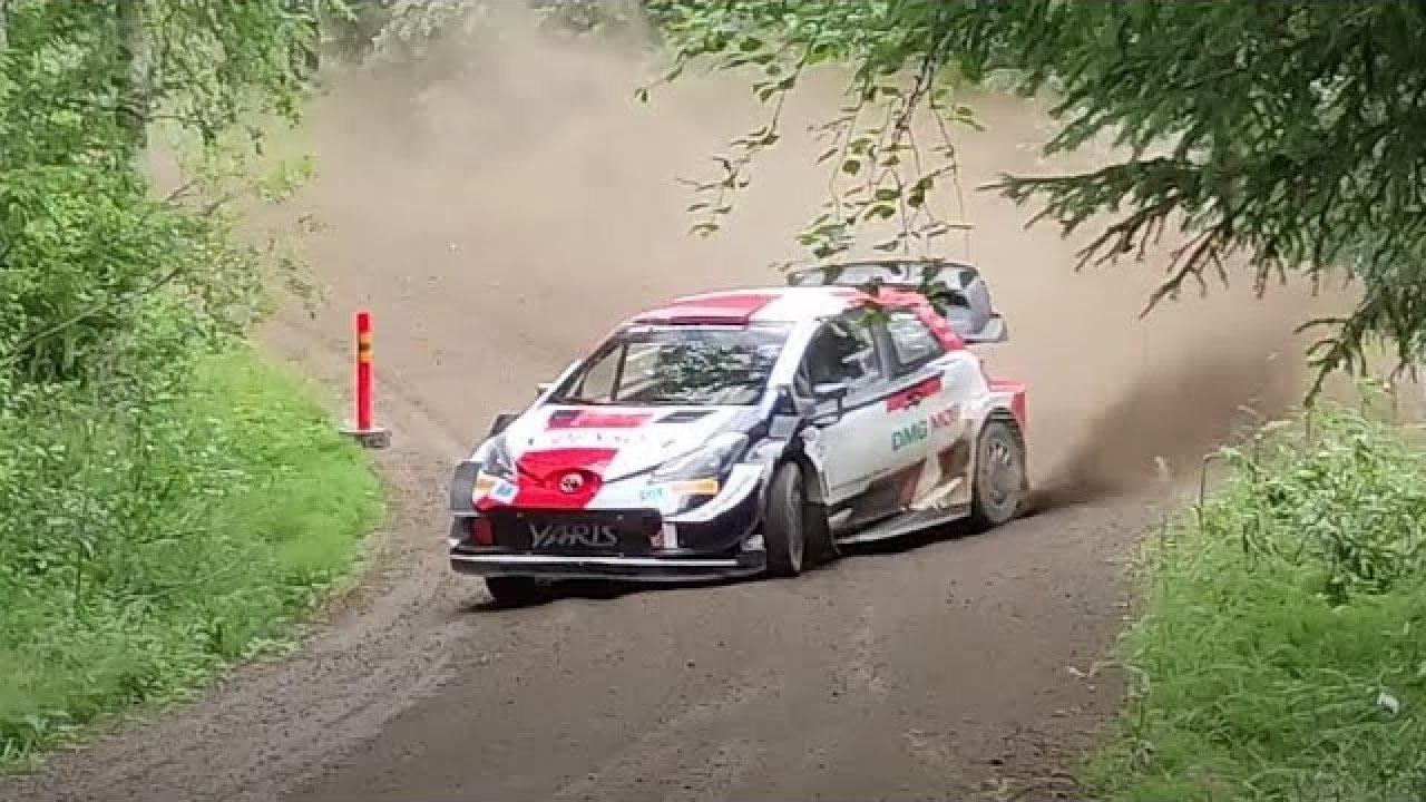 Rovanperä Rally Estonia 2021 eelne test, WRC Timo