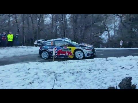 Monte Carlo ralli 2017 - Shakedown testikatse
