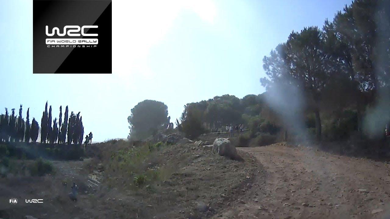 Sardiinia ralli testikatse läbi Sunineni pardakaamera