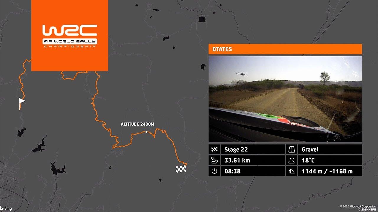 Mehhiko ralli 2020 - kiiruskatsed, WRC