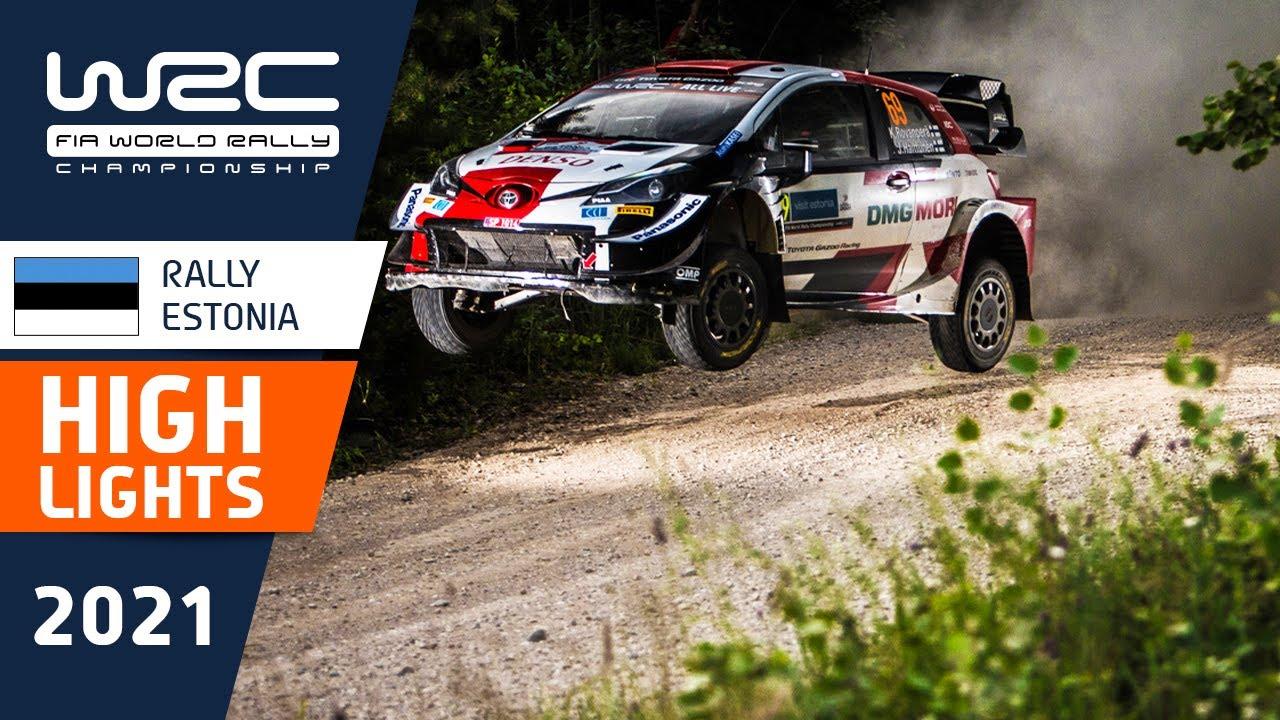 Rally Estonia 2021 kiiruskatsete SS10-SS13 kokkuvõte, WRC