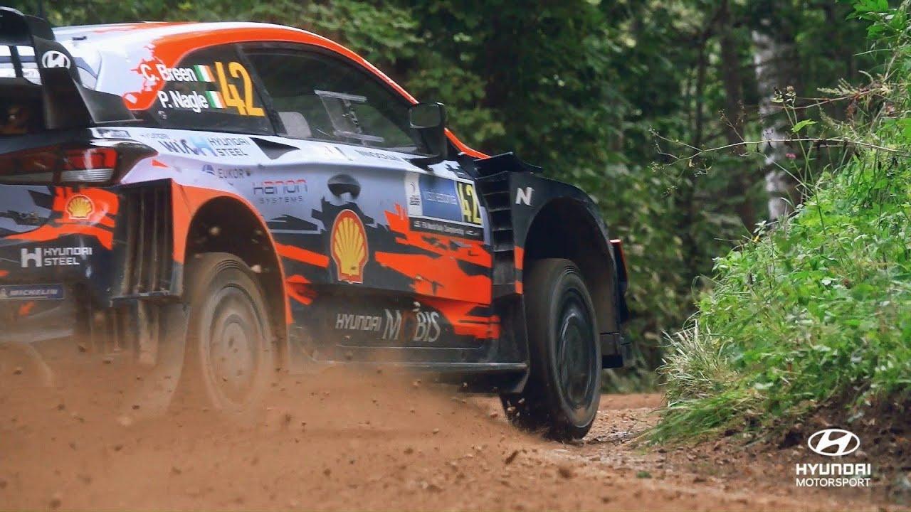 Hyundai Motorsport kokkuvõte Rally Estonia-st