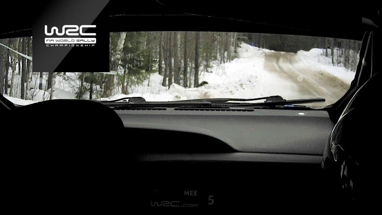Rootsi ralli 2019 - testikatse, Meeke pardakaamera, WRC