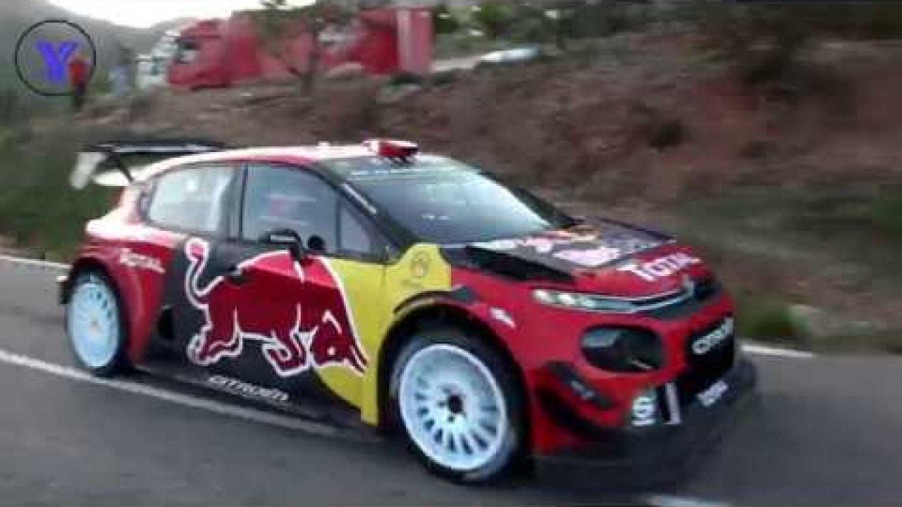 Hispaania ralli 2019 - rallieelne test, Citroen ja Lappi