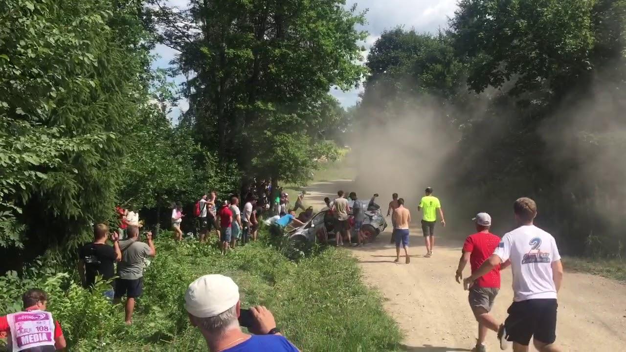 Rally Estonia 2018 - 1. päev, SS7, väljasõit