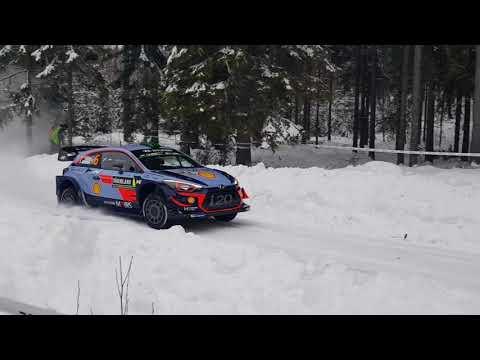 Rootsi ralli 2018 - shakedown testikatse, Daniel Björkdahl