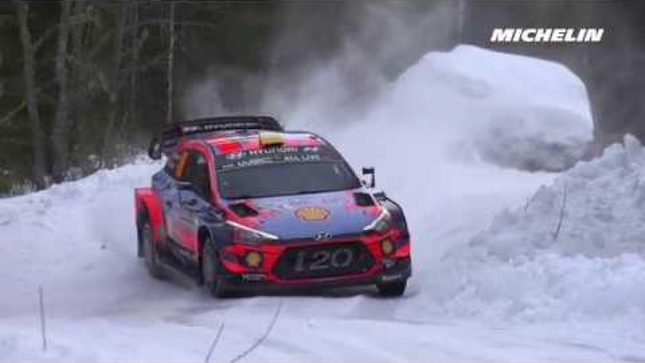 Rootsi ralli 2019 - testikatse, ülevaade, Michelin Motorsport