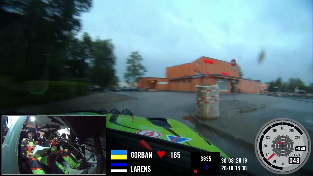 Lõuna-Eesti ralli 2019 - SS1, pardakaamera, Eurolamp WRT