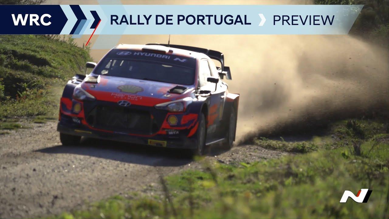 Hyundai meeskonna Portugali ralli eelvaade