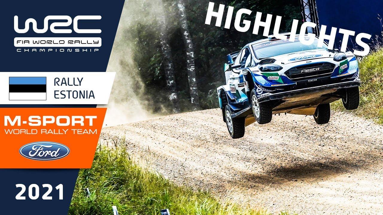 M-Sport meeskonna Rally Estonia 2021 reedese võistluspäeva kokkuvõte