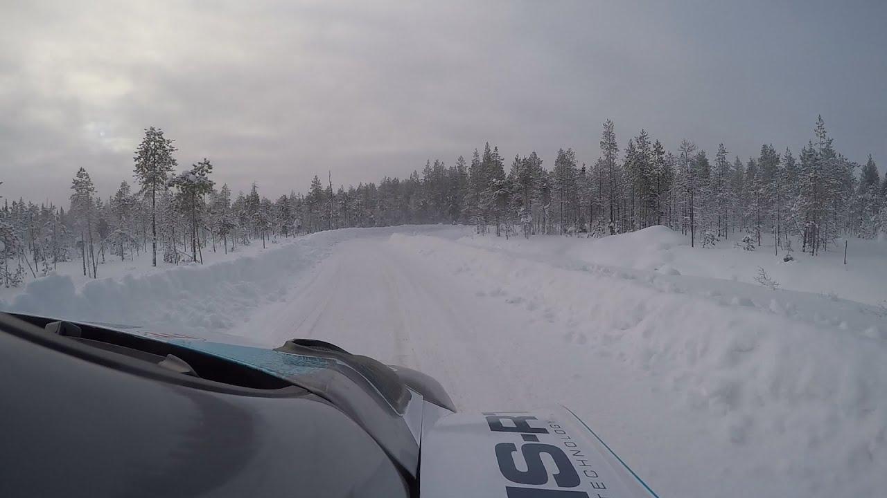 Lorenzo Bertelli ettevalmistused Soome Artic ralliks