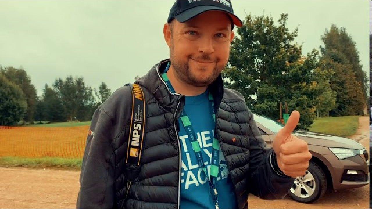 Rally Estonia telgitagused, 3. päev - Vihm