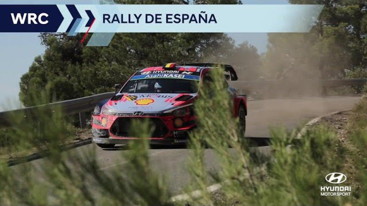 Hyundai Motorsport eelvaade Kataloonia rallile