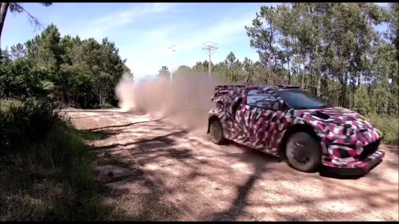 Toyota GR Yaris WRC 2022 Hybrid test Portugalis