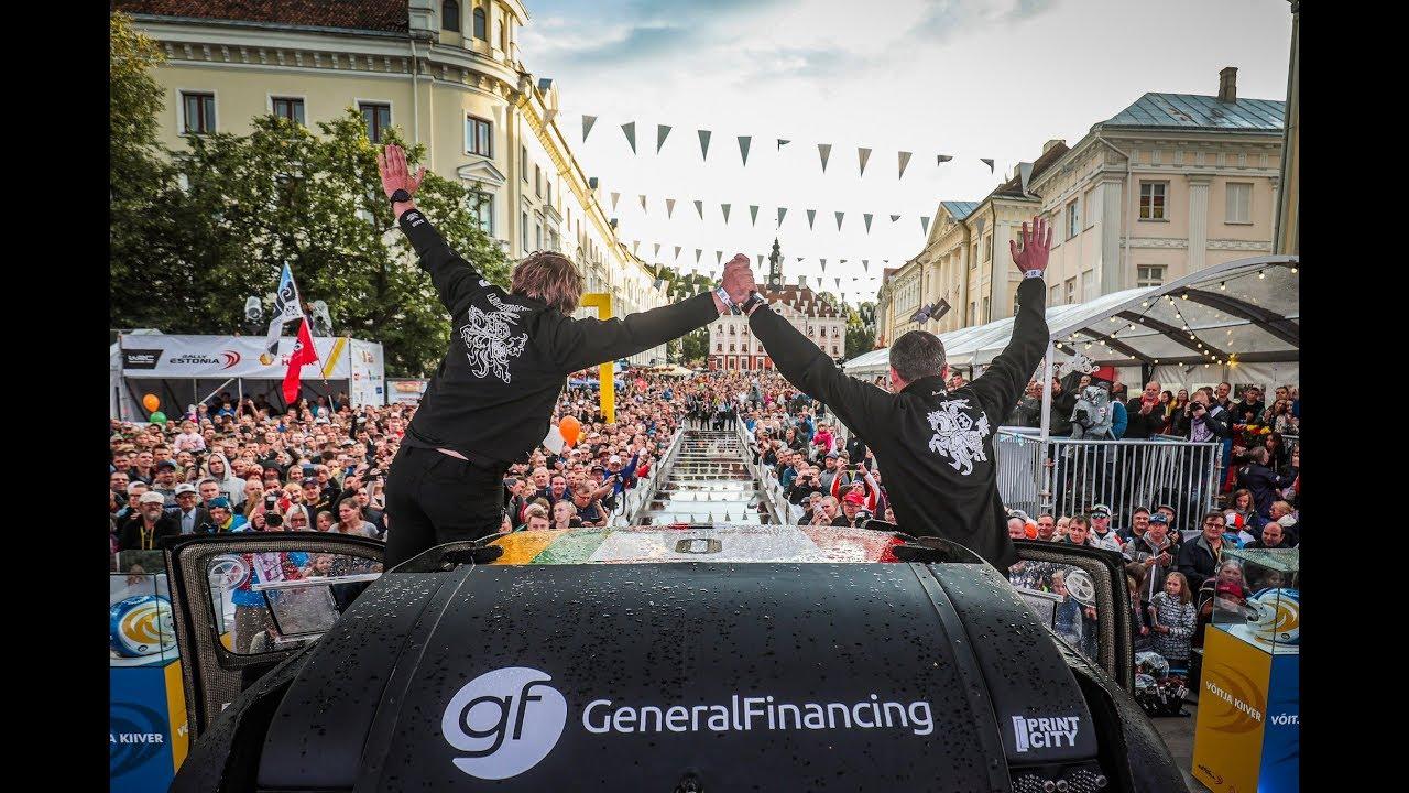 Rally Estonia 2019 - 1. päev, Benediktas Vanagas