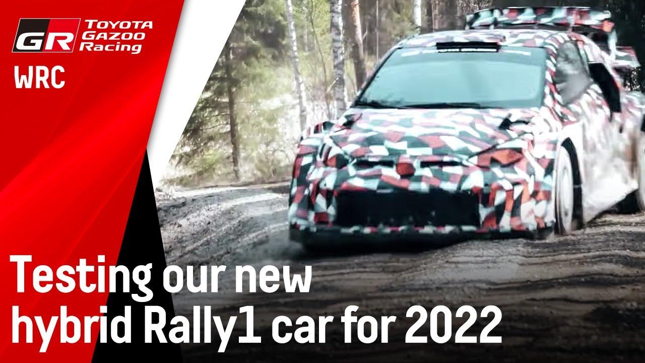 Toyota uue Rally1 masina test
