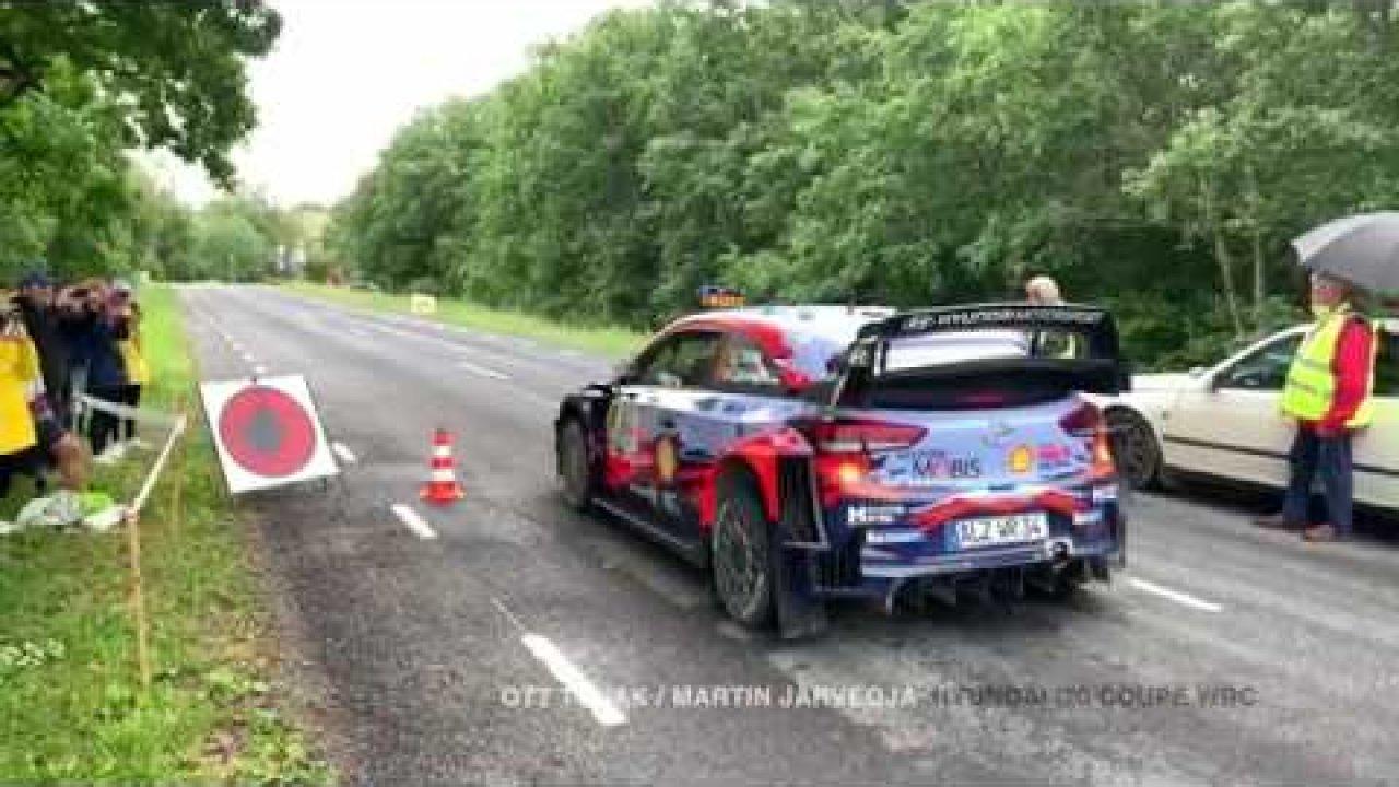 WRC ja R5 masinate startimine Viru Rallil