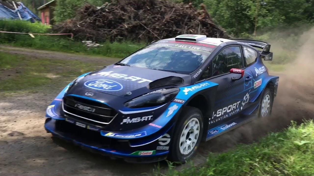 Soome ralli 2019 - rallieelne test, Suninen, WRC Timo