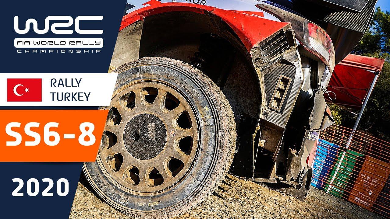 Türgi Ralli kiiruskatsete SS6 - SS8 kokkuvõte, WRC