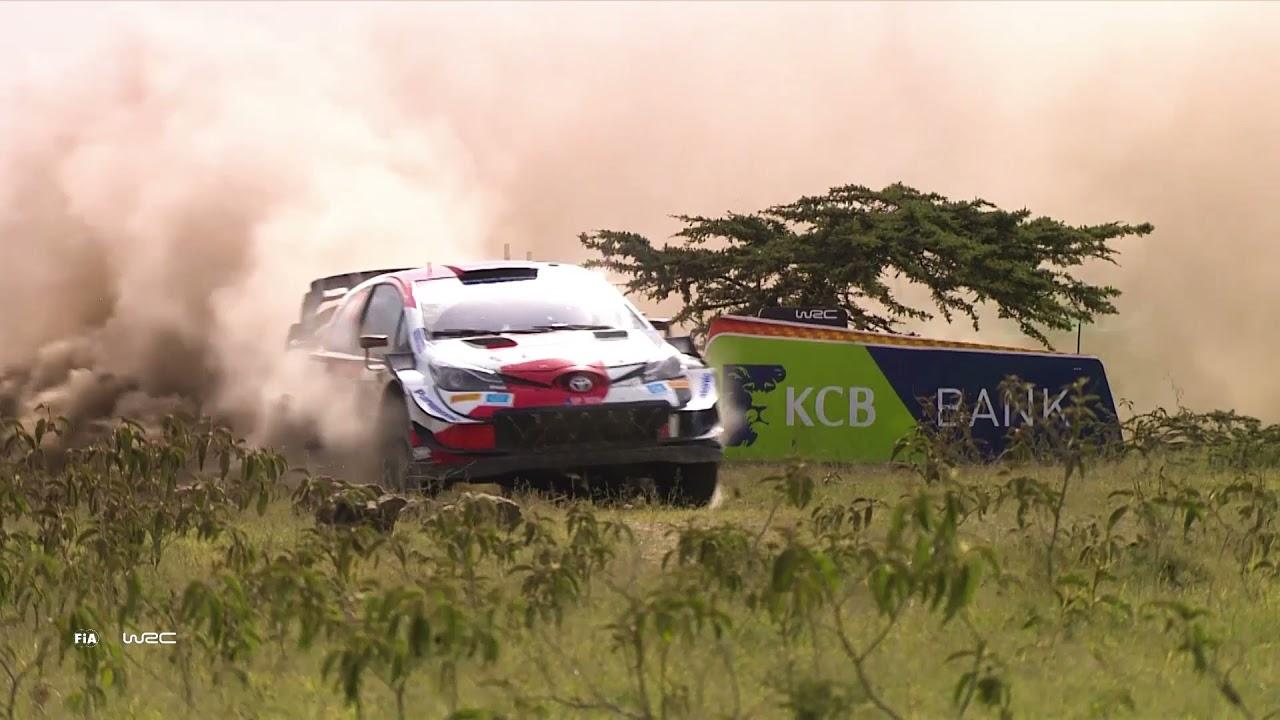 Toyota meeskonna Keenia ralli kolmanda võistluspäeva kokkuvõte