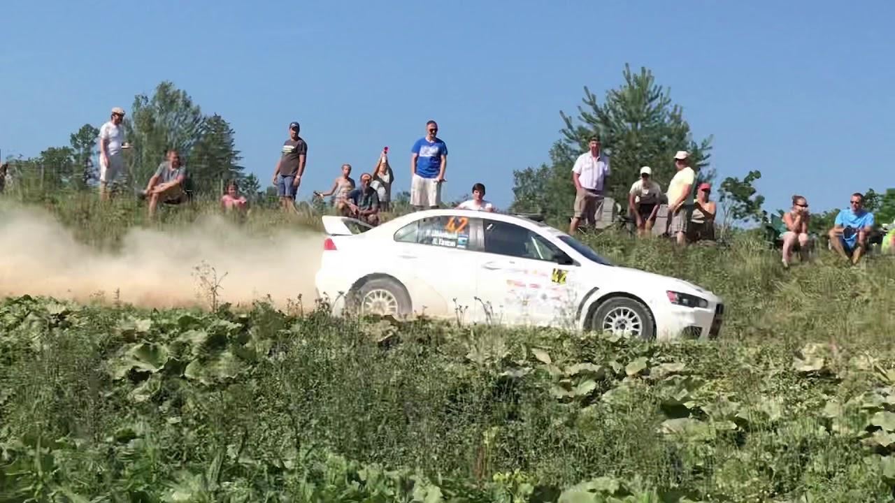Rally Estonia 2018 - 2. päev, Ubinhaini hüpe
