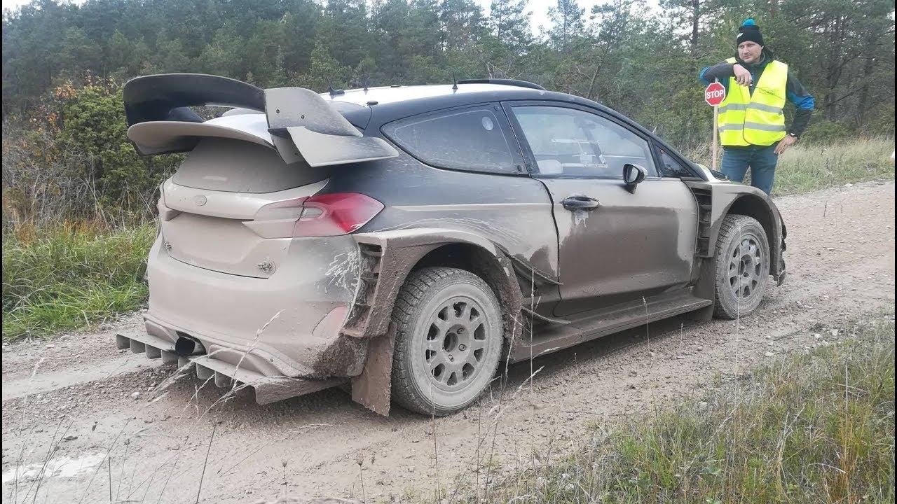 Saaremaa ralli 2018 - rallieelne test, Gross, Ford Fiesta WRC 2017