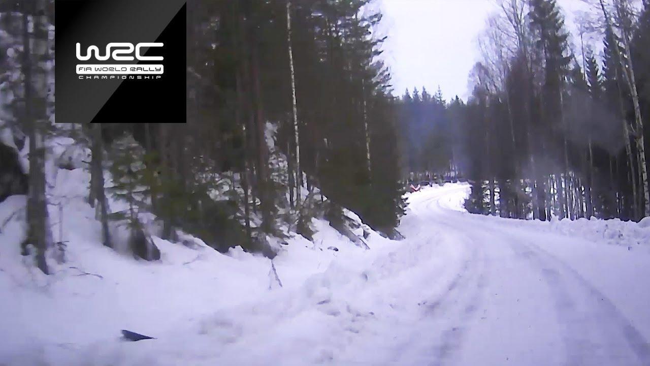 Rootsi ralli 2019 - testikatse, Neuville pardakaamera, WRC