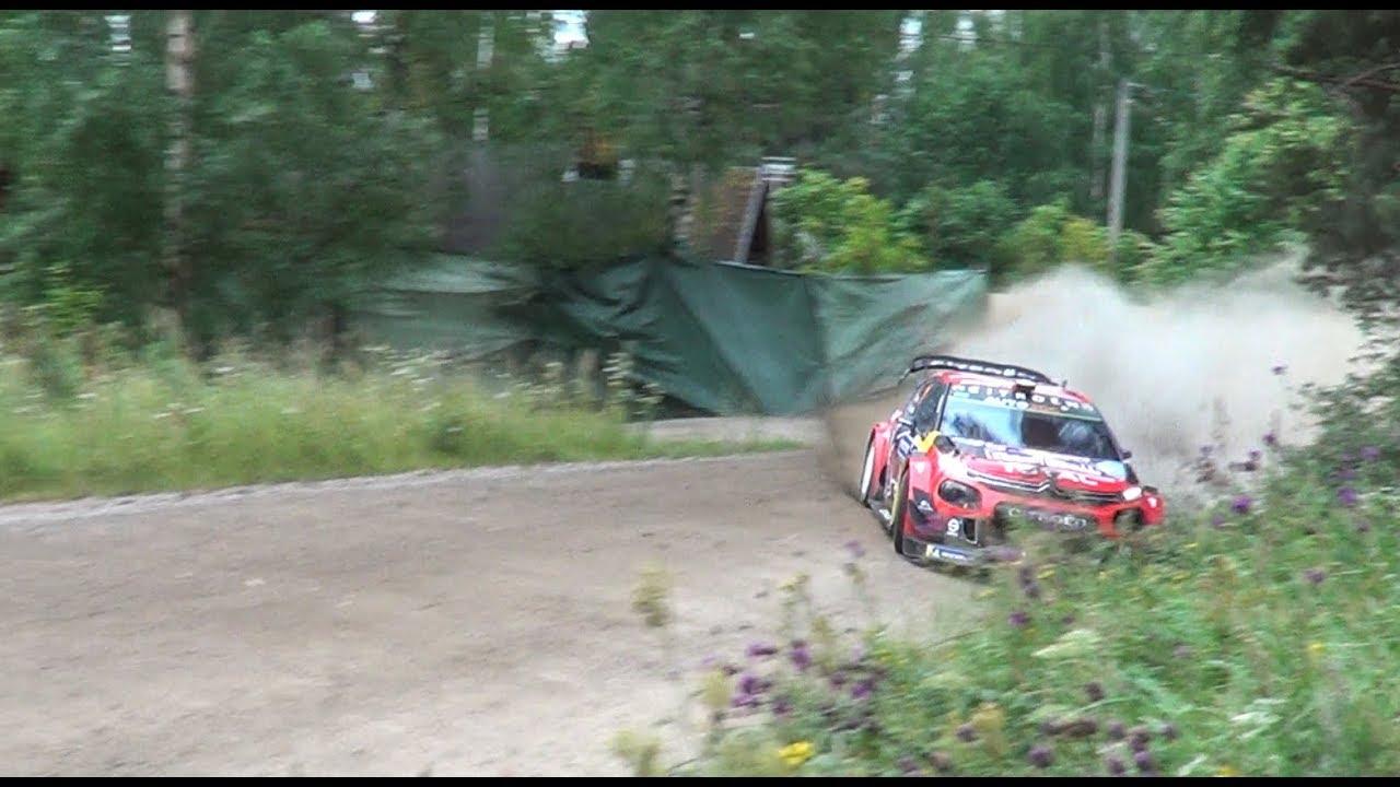 Soome ralli 2019 - 2. võistluspäev, täiskiirusel kihutamine, Flat Out Video