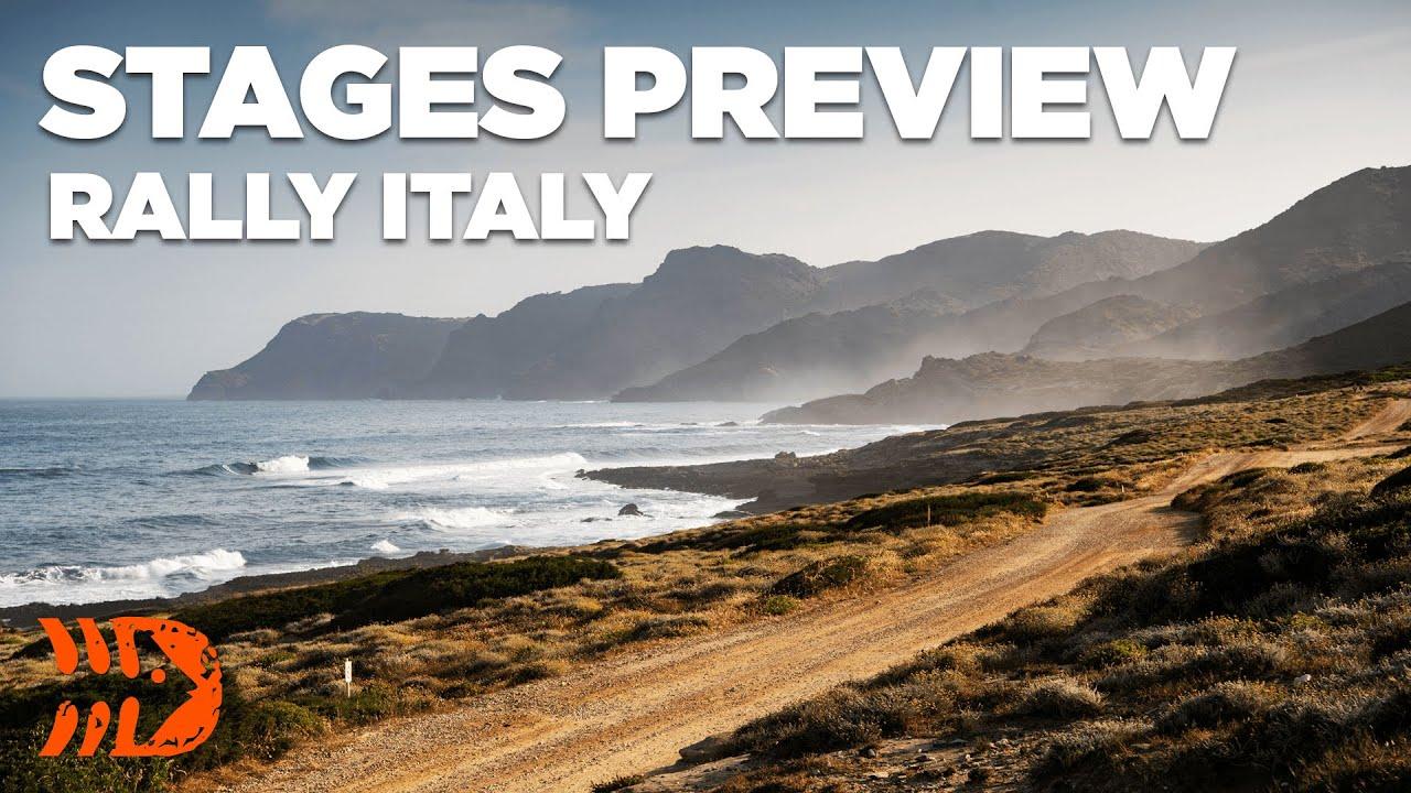 Sardiinia Ralli kiiruskatsete eelvaade