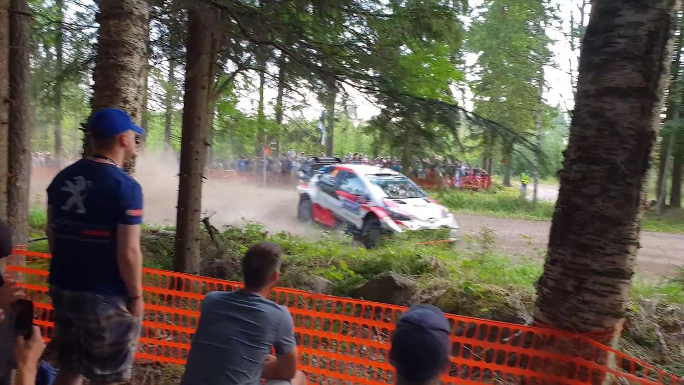 Soome ralli 2018 - testikatse, Tänaku apsakas 2