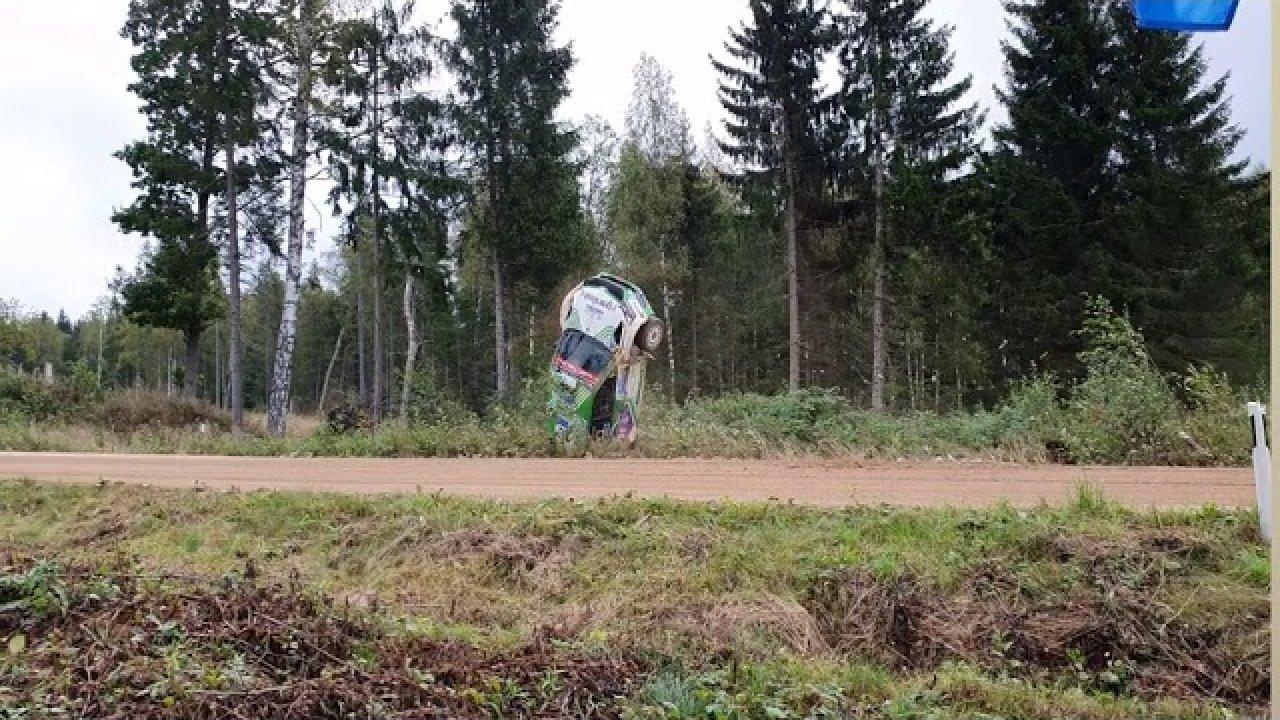 Jeetsi üle katuse käik Rally Estonia SS13