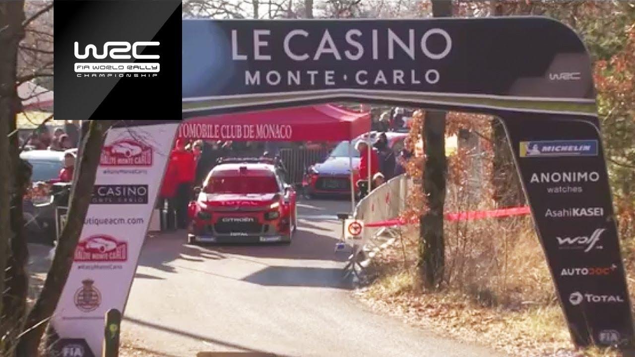 Monte Carlo ralli 2019 - testikatse järelvaadatavana
