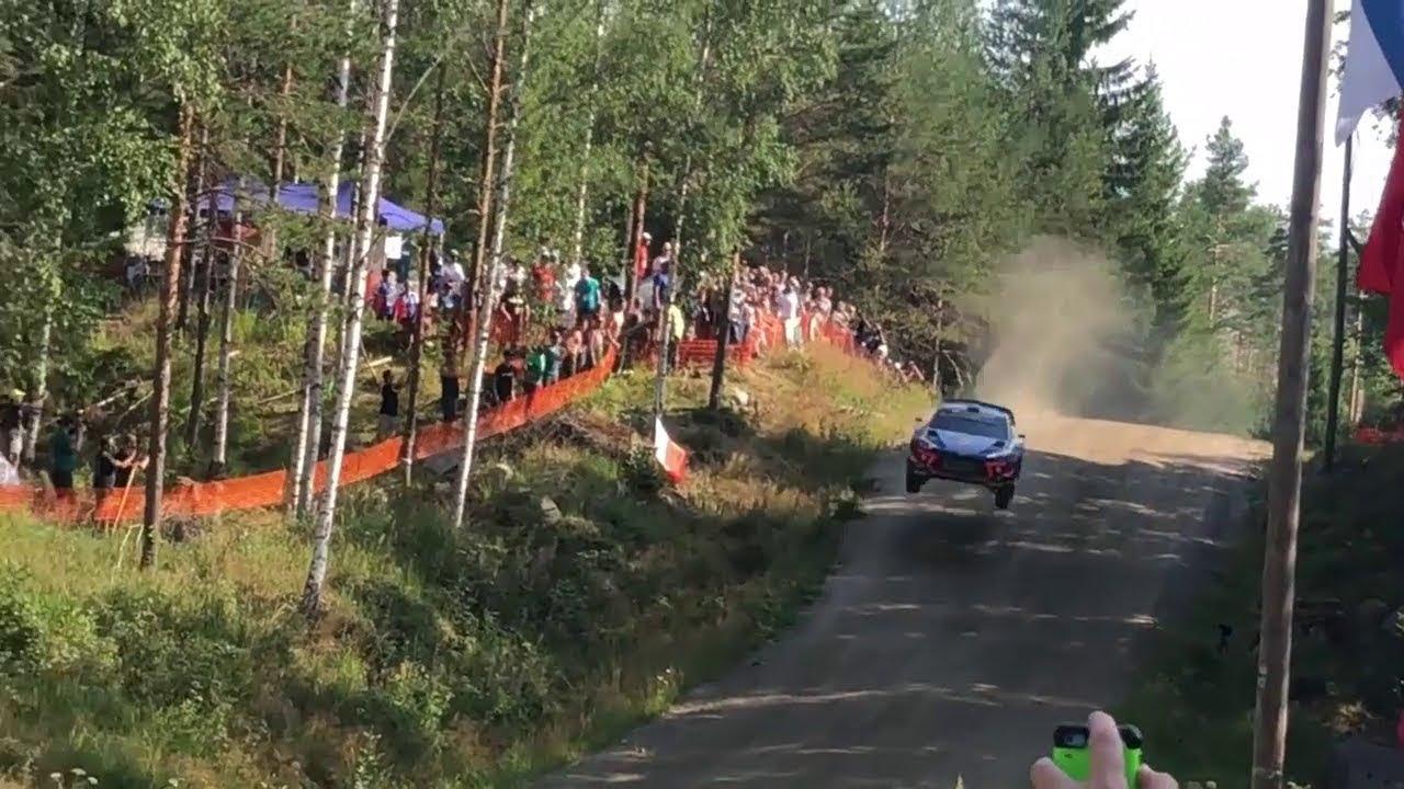 Soome ralli 2018 - 2. päev, ülevaade, videos mis chocheritas