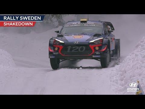 Rootsi ralli 2018 - shakedown testikatse, Hyundai Motorsport