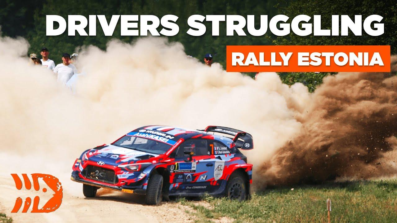 Rally Estonia 2021 reede võistluspäeva järgsed sõitjate muljed