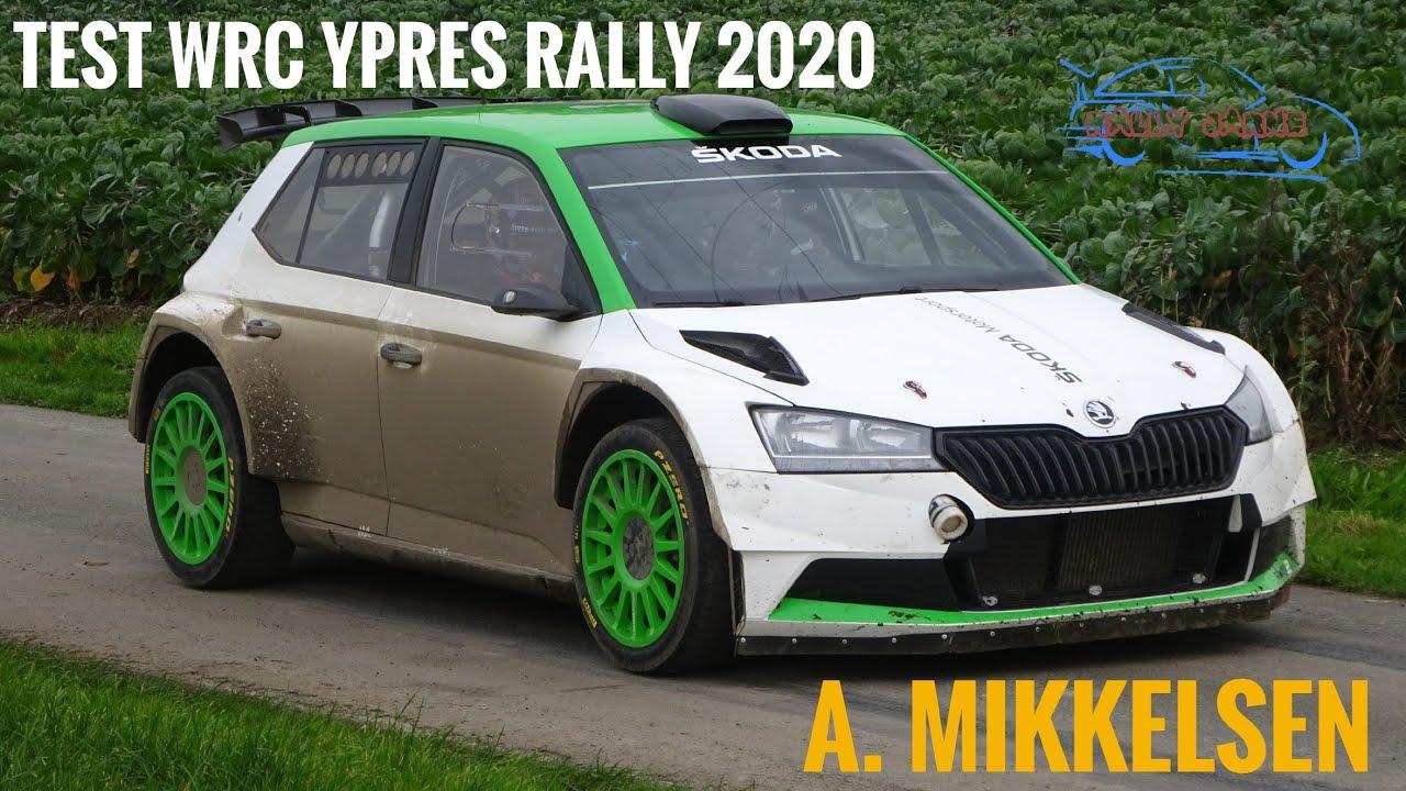 Mikkelsen ja Škoda test enne Ypres Rallyt, Rally Jarne