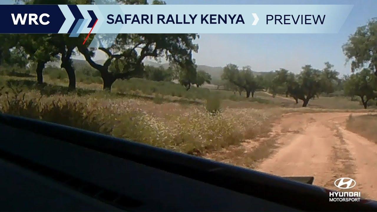 Keenia ralli 2021 eelvaade, Hyundai Motorsport